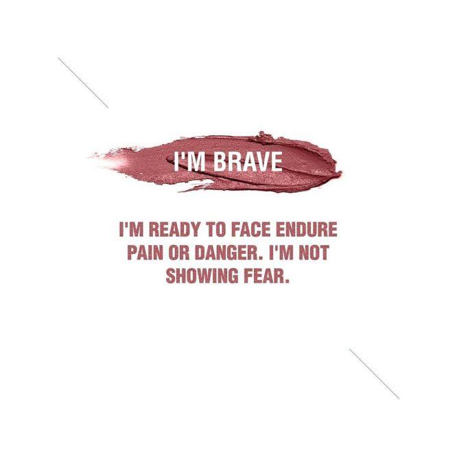 Lip Cream I'm Brave